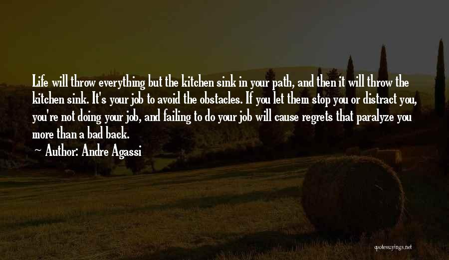 Regrets In Life Quotes By Andre Agassi