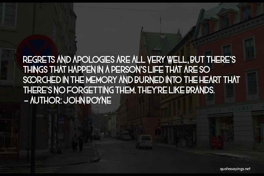 Regrets In Life Quotes By John Boyne