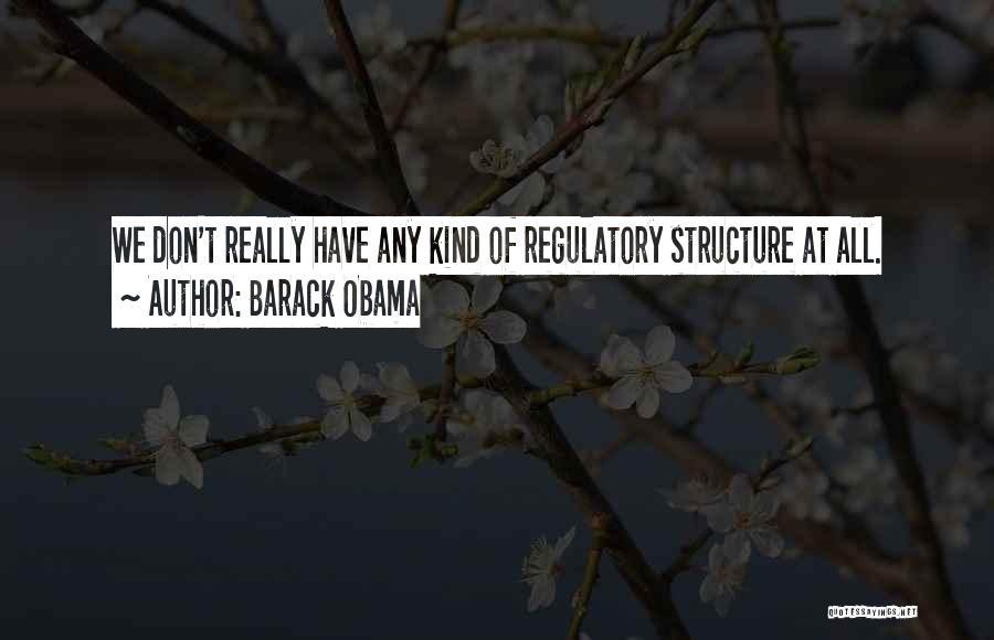 Regulatory Quotes By Barack Obama