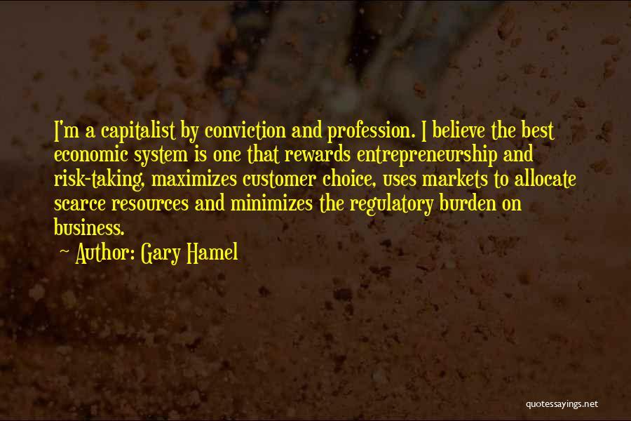 Regulatory Quotes By Gary Hamel