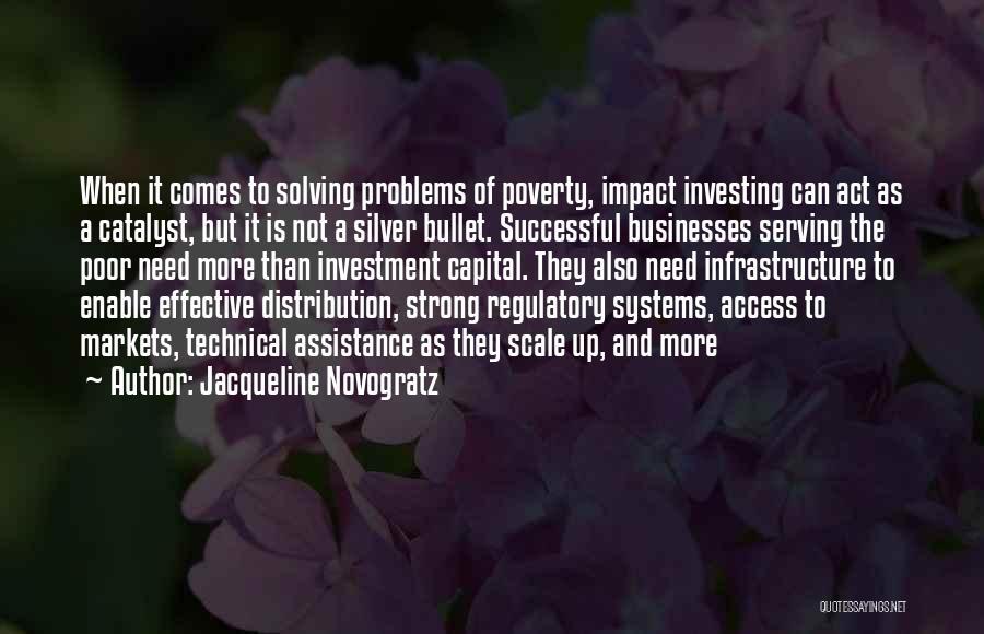 Regulatory Quotes By Jacqueline Novogratz