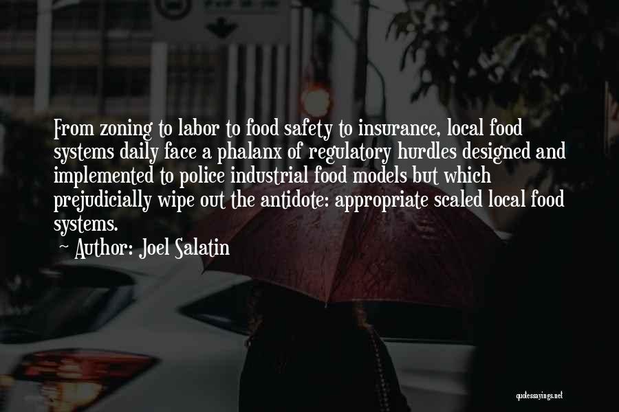 Regulatory Quotes By Joel Salatin