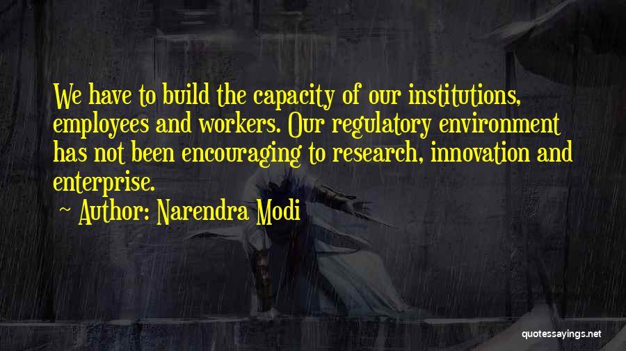 Regulatory Quotes By Narendra Modi