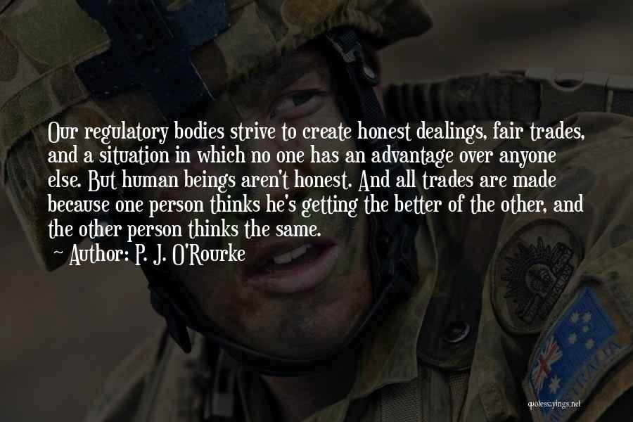 Regulatory Quotes By P. J. O'Rourke
