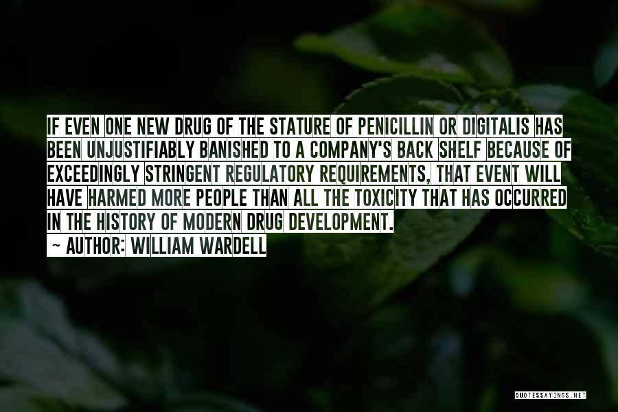 Regulatory Quotes By William Wardell