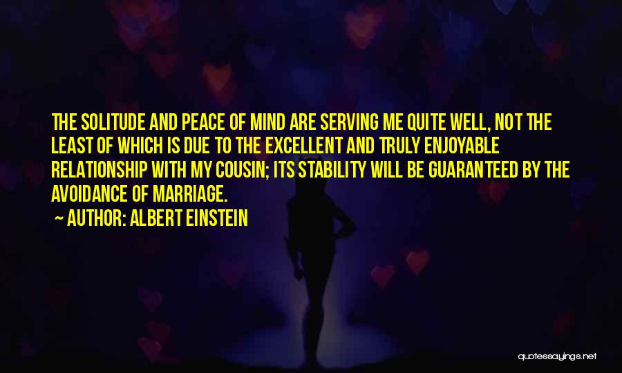 Relationship And Marriage Quotes By Albert Einstein