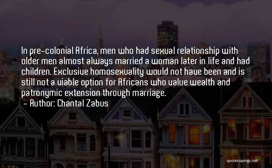 Relationship And Marriage Quotes By Chantal Zabus