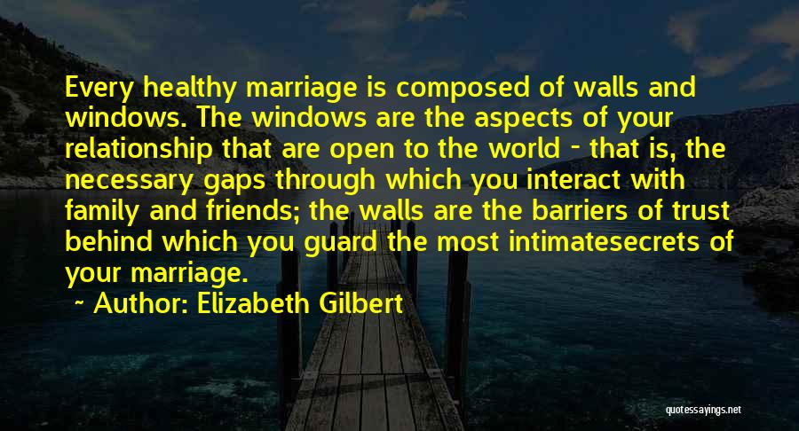 Relationship And Marriage Quotes By Elizabeth Gilbert