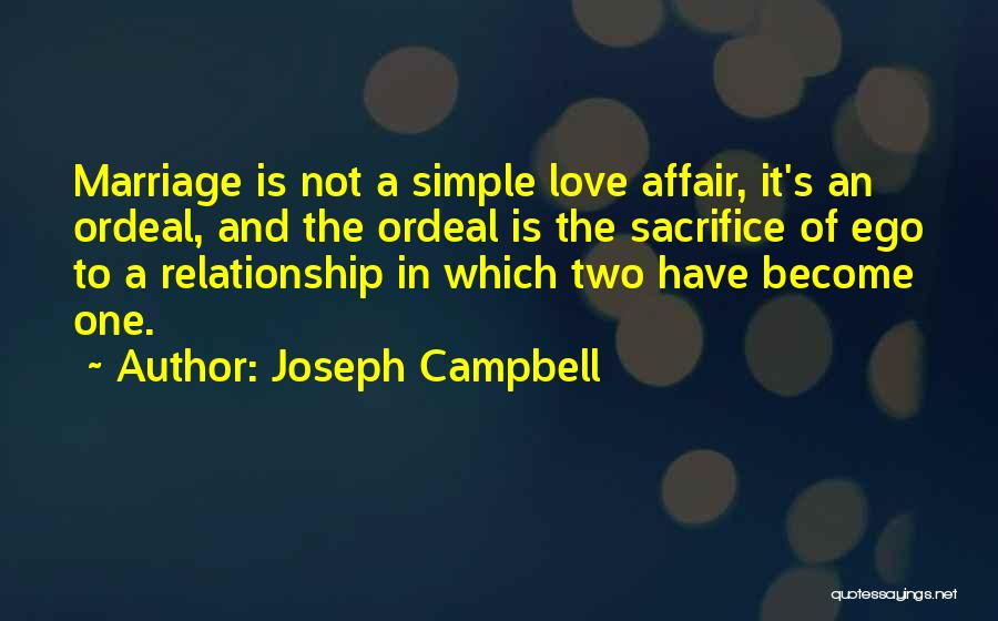 Relationship And Marriage Quotes By Joseph Campbell