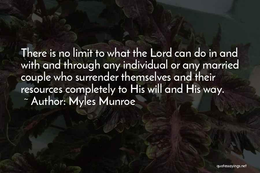 Relationship And Marriage Quotes By Myles Munroe