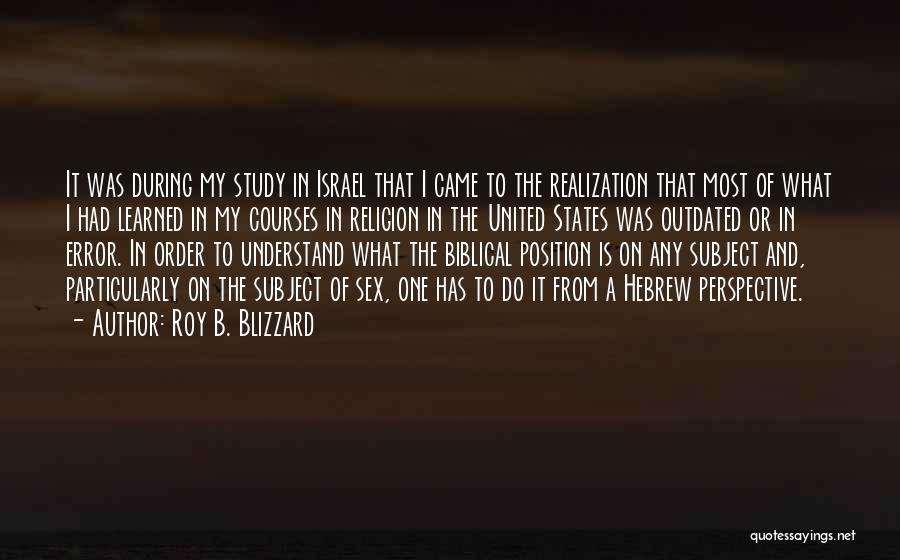 Relationship And Marriage Quotes By Roy B. Blizzard