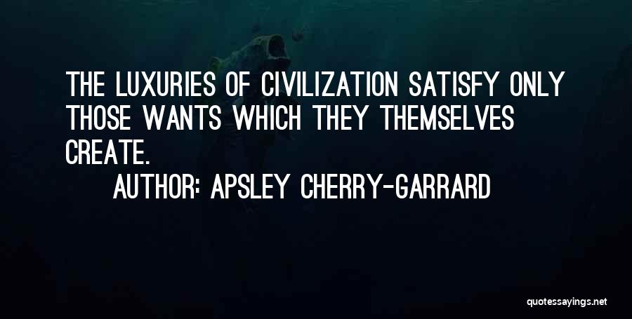 Relationship Between Gatsby And Daisy Quotes By Apsley Cherry-Garrard