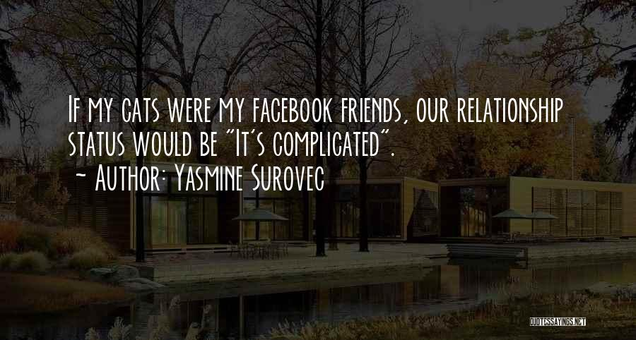 Relationship Status For Facebook Quotes By Yasmine Surovec