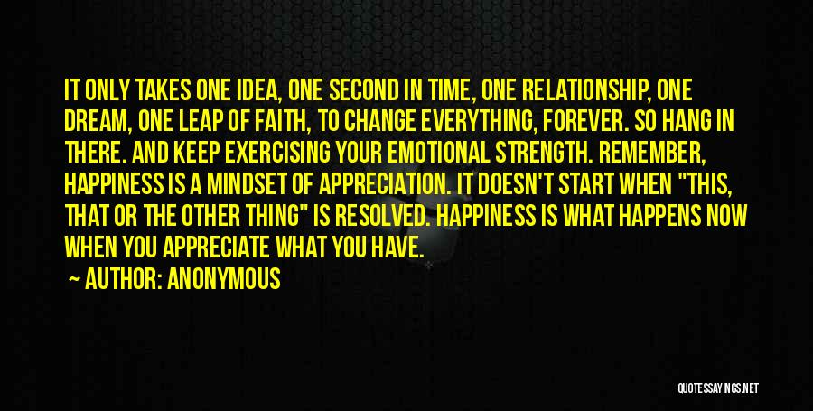 Relationship Strength Quotes By Anonymous