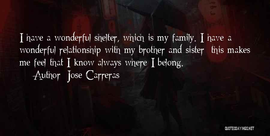 Relationship With Brother Quotes By Jose Carreras