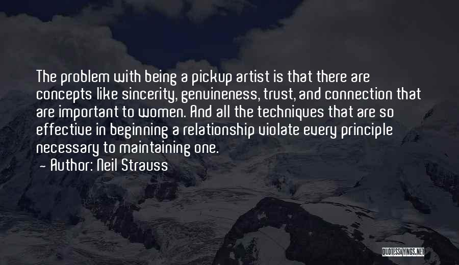 Relationship Without Trust Like Quotes By Neil Strauss