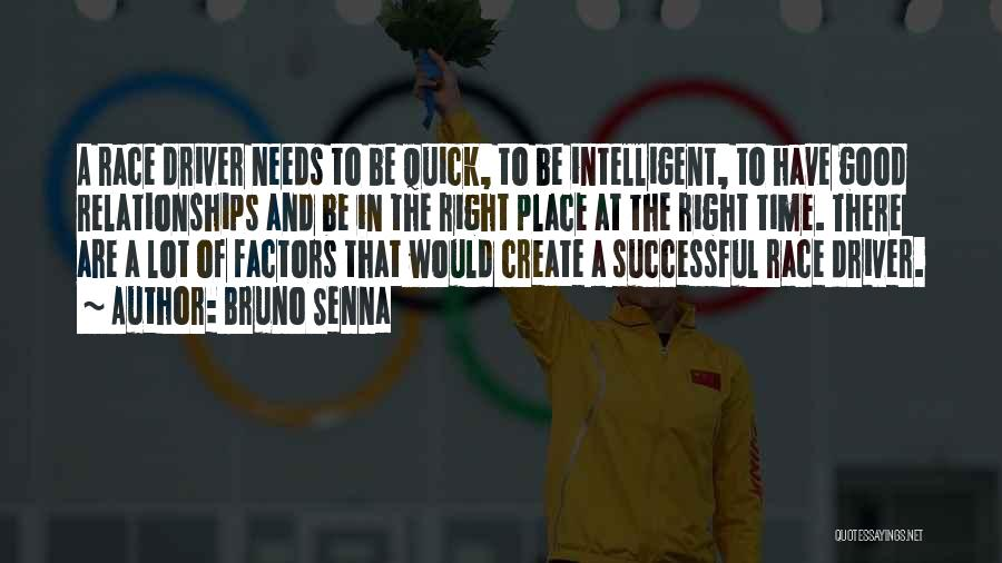 Relationships And Time Quotes By Bruno Senna