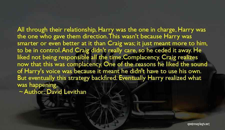 Relationships And Time Quotes By David Levithan