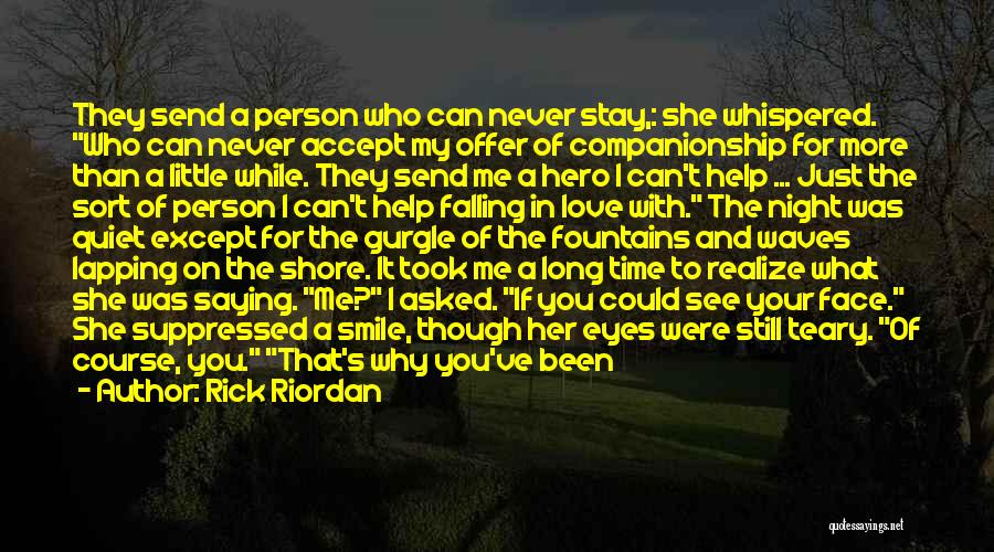 Relationships And Time Quotes By Rick Riordan