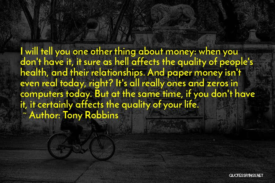 Relationships And Time Quotes By Tony Robbins