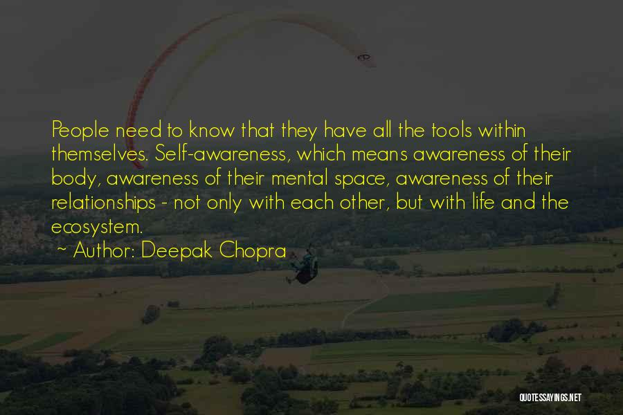 Relationships Need Space Quotes By Deepak Chopra