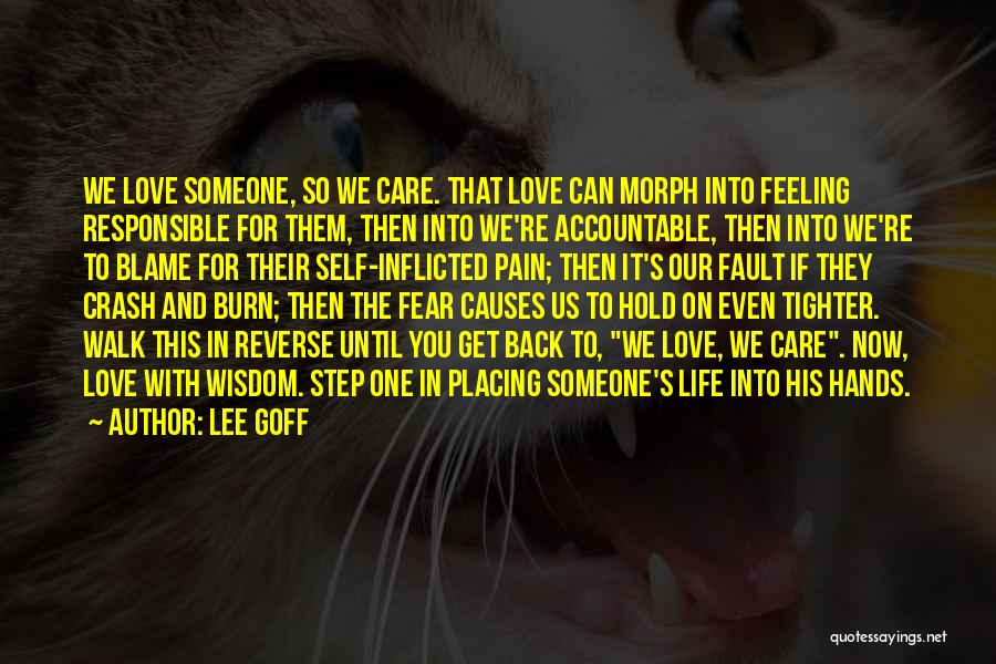 Relationships Now And Then Quotes By Lee Goff