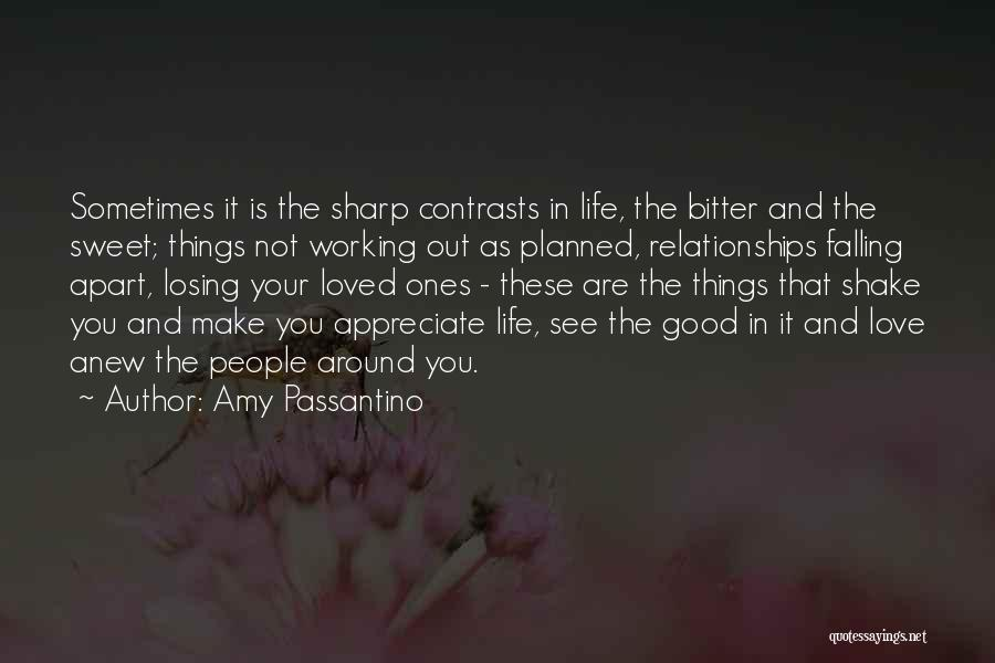 Relationships Working Things Out Quotes By Amy Passantino
