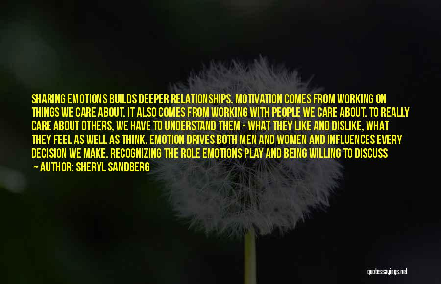 Relationships Working Things Out Quotes By Sheryl Sandberg