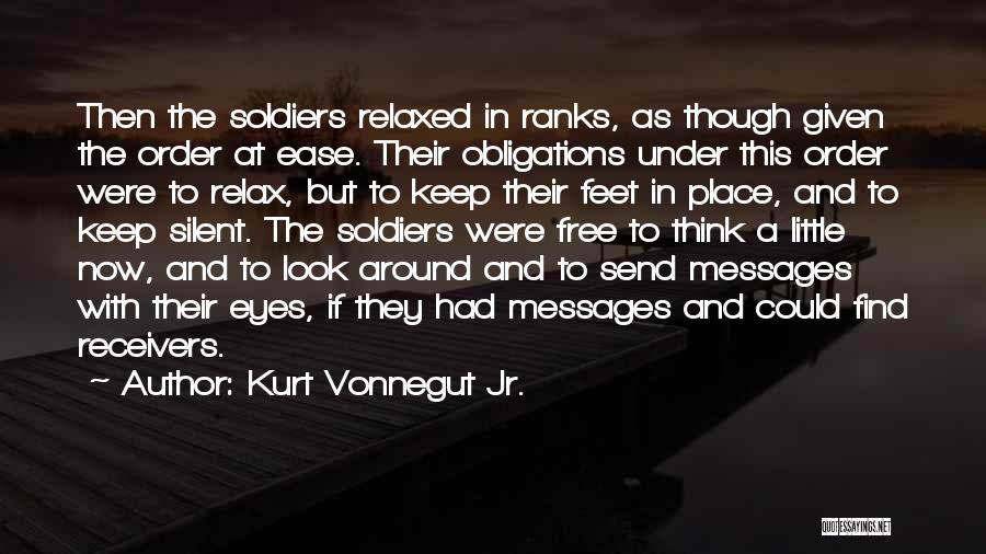 Relax Quotes By Kurt Vonnegut Jr.