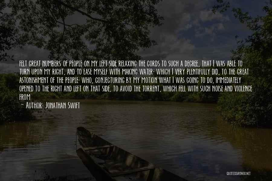 Relaxing On The Water Quotes By Jonathan Swift