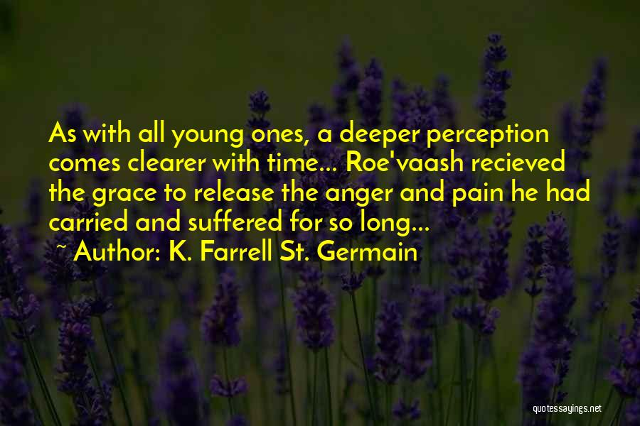 Release Your Pain Quotes By K. Farrell St. Germain