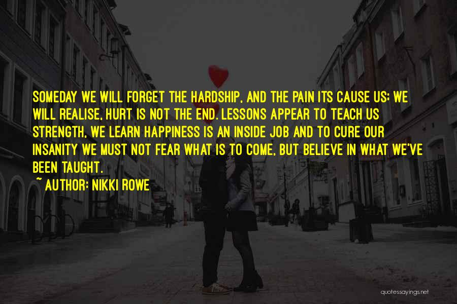 Release Your Pain Quotes By Nikki Rowe