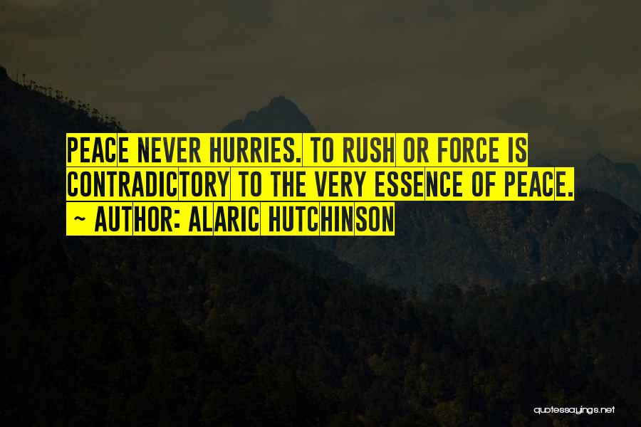 Releasing Quotes By Alaric Hutchinson