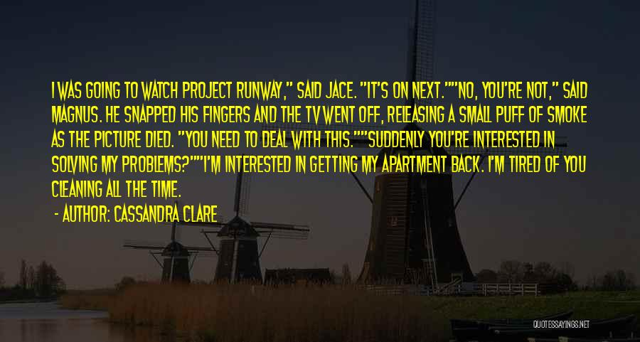Releasing Quotes By Cassandra Clare
