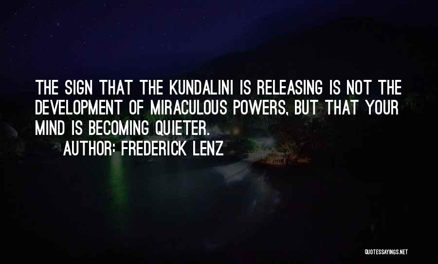 Releasing Quotes By Frederick Lenz