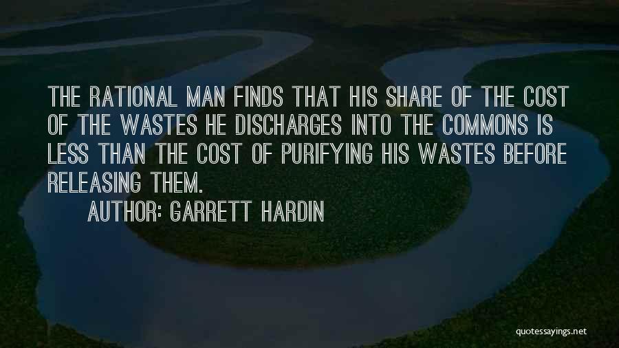 Releasing Quotes By Garrett Hardin