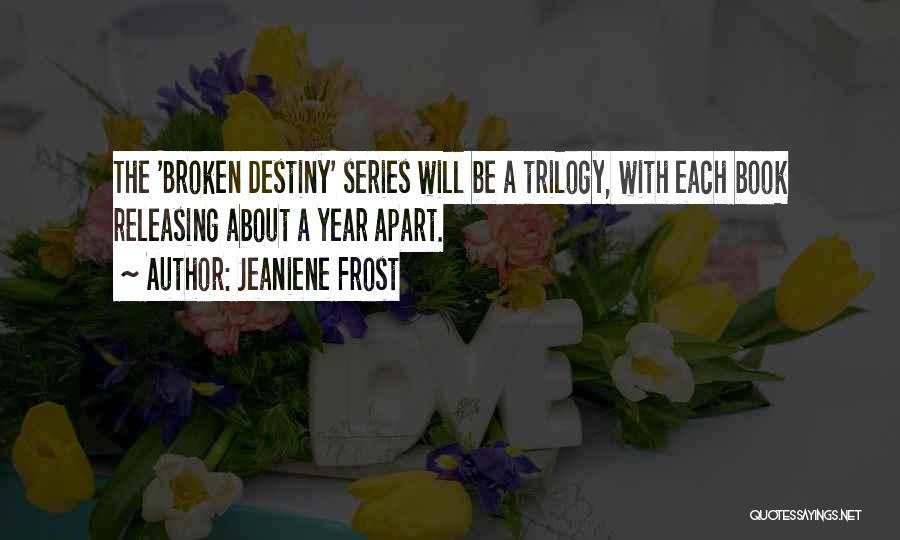 Releasing Quotes By Jeaniene Frost