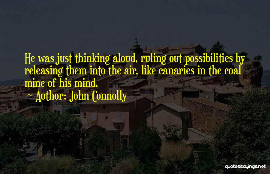 Releasing Quotes By John Connolly
