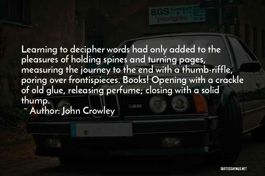 Releasing Quotes By John Crowley