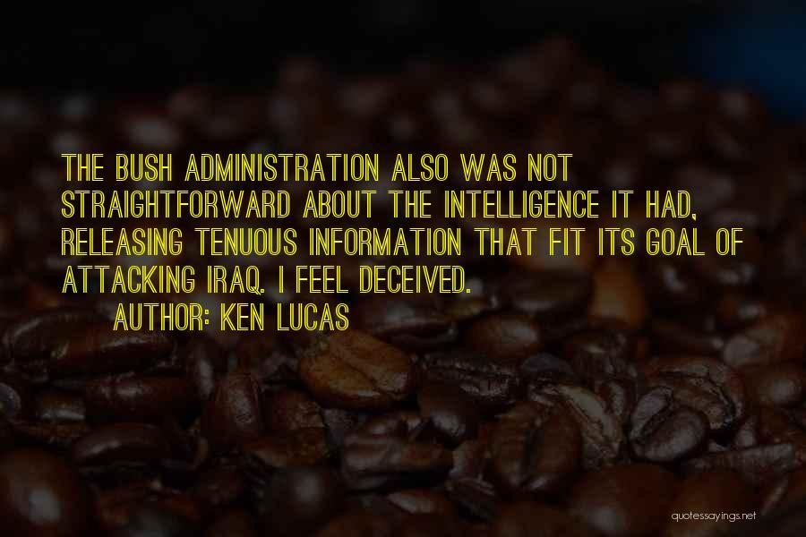Releasing Quotes By Ken Lucas