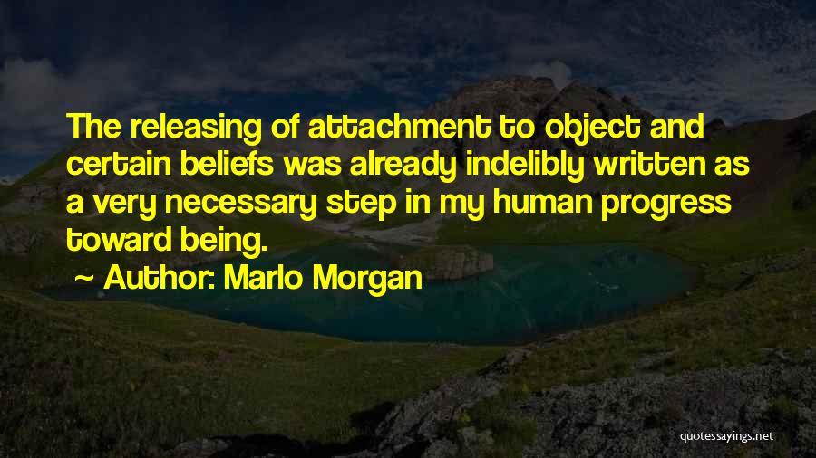 Releasing Quotes By Marlo Morgan