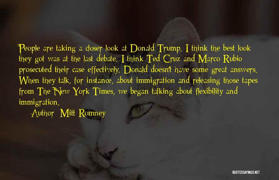 Releasing Quotes By Mitt Romney