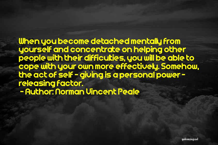 Releasing Quotes By Norman Vincent Peale