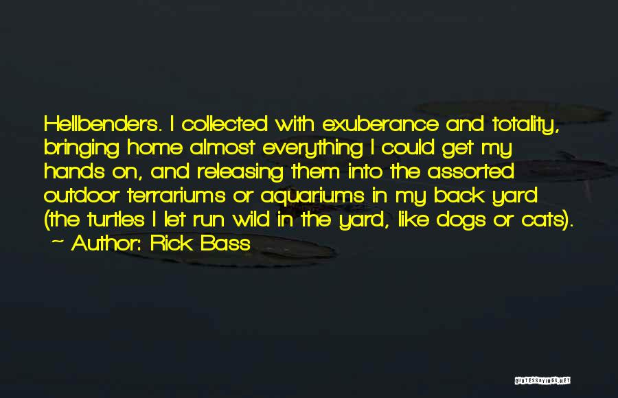 Releasing Quotes By Rick Bass