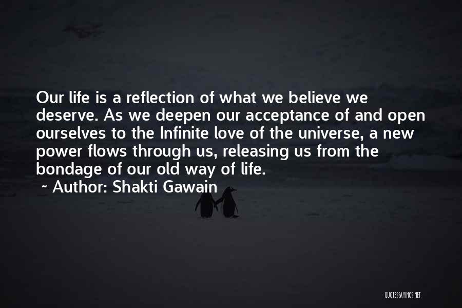 Releasing Quotes By Shakti Gawain