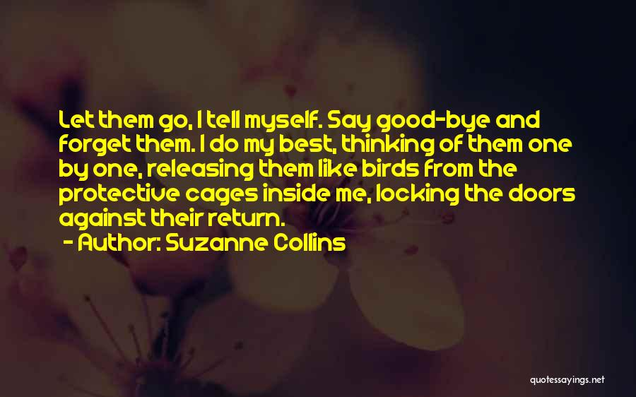 Releasing Quotes By Suzanne Collins