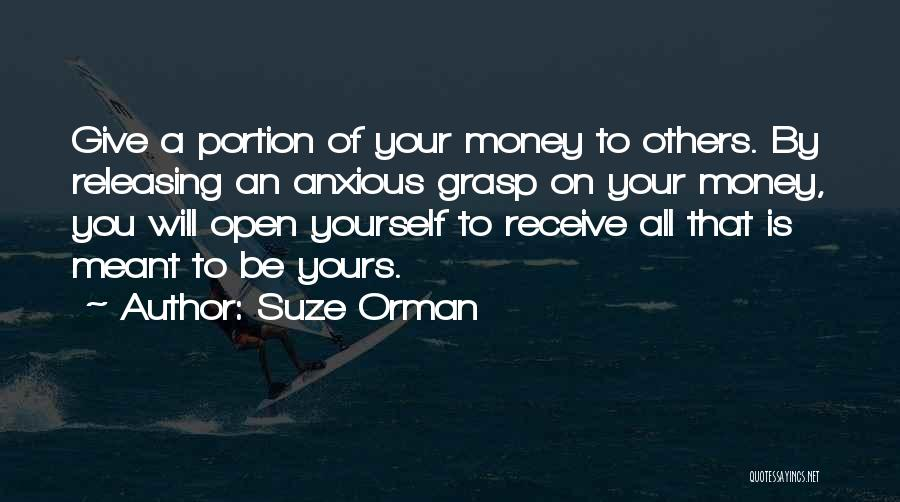 Releasing Quotes By Suze Orman