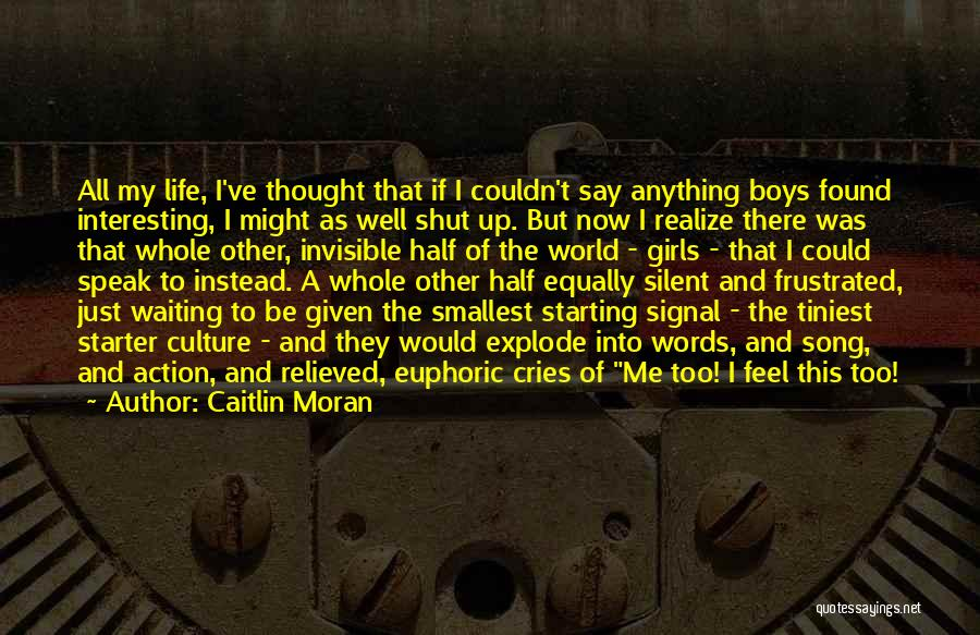 Relieved Quotes By Caitlin Moran