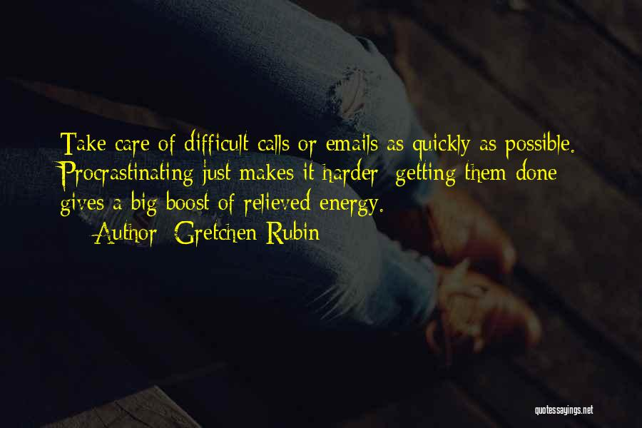 Relieved Quotes By Gretchen Rubin