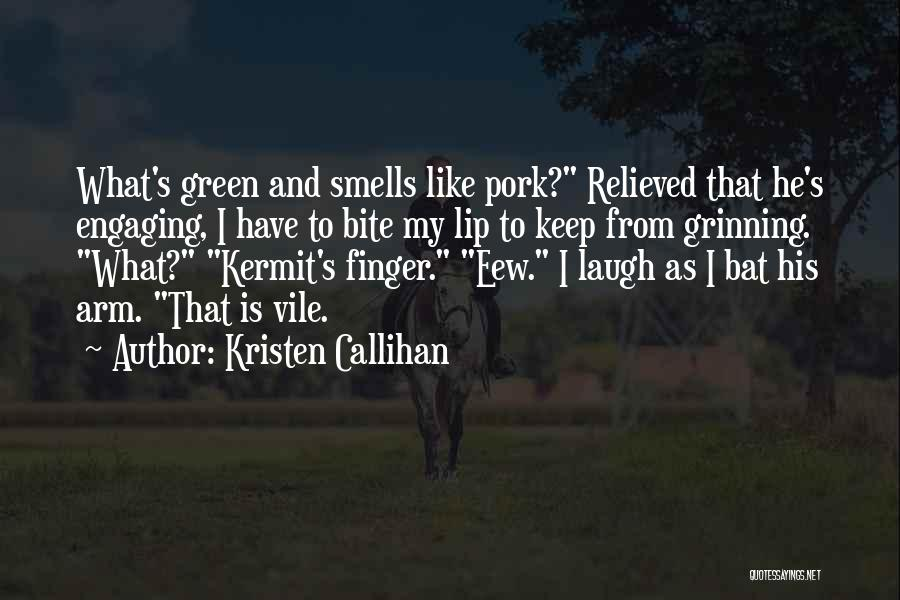 Relieved Quotes By Kristen Callihan